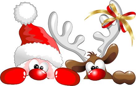 Mikołaj i renifer